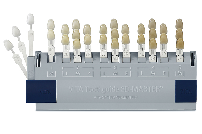 VITA-3DMasterシェードガイド