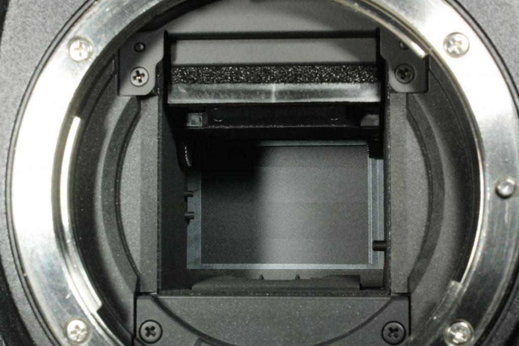 デジタル一眼レフのシャッター