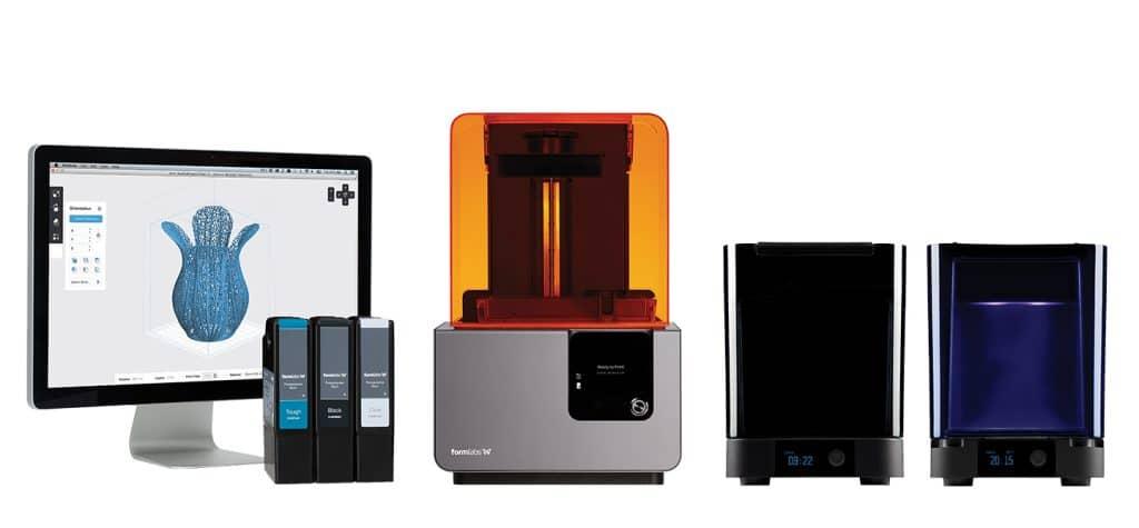 3DプリンターForm2